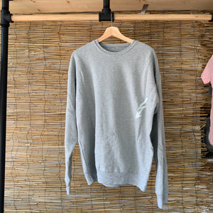Coastal Towns Crewneck - Gray