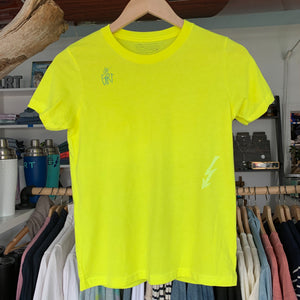 Youth Summer Rollers Tee - Neon Yellow