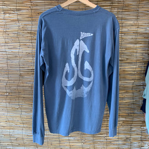 LS SG Pocket Tee - Blue Jean