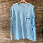LS SG Pocket Tee - Chambray