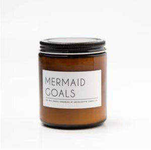 Mermaid Goals 8 oz Soy Candle