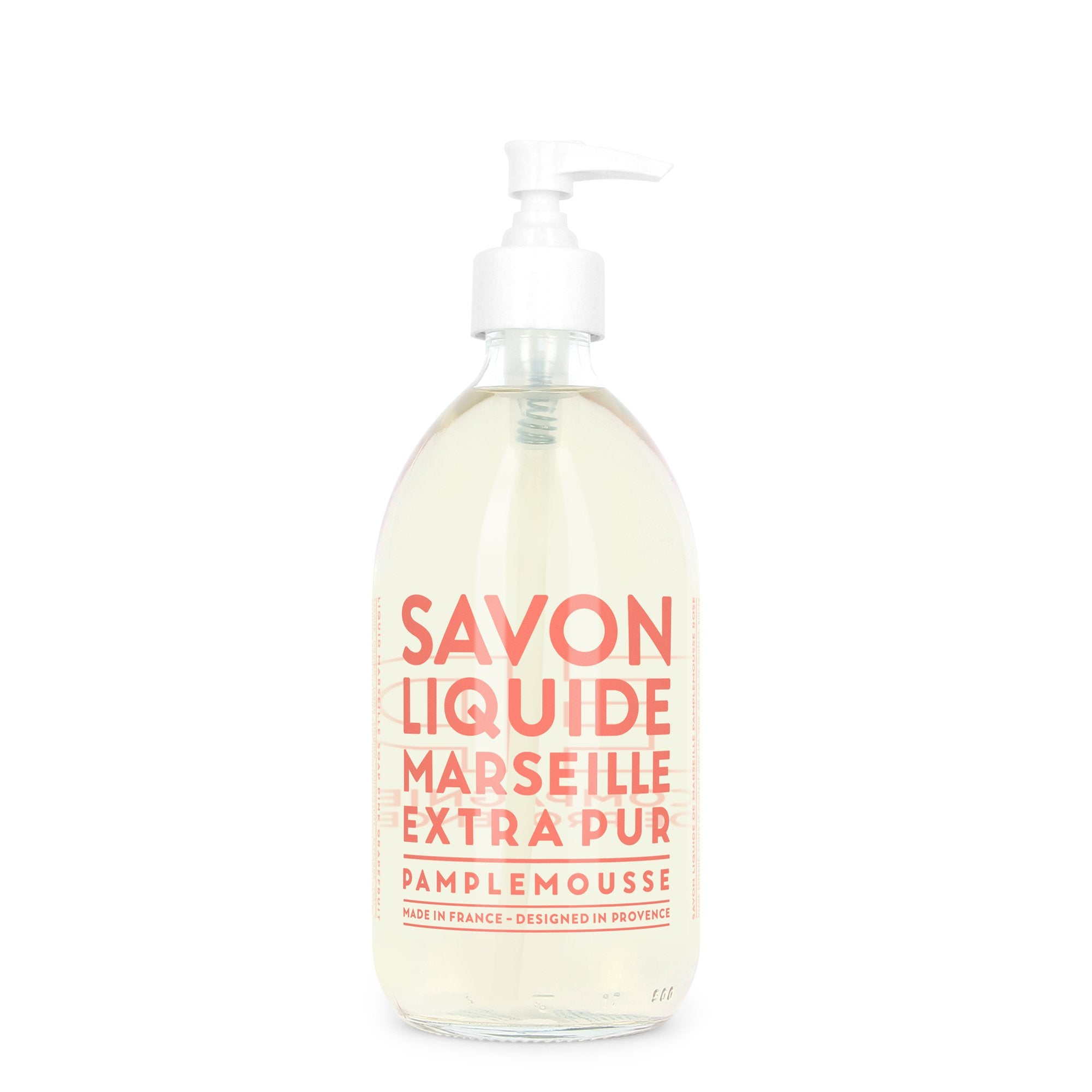 Liquid Marseille Soap 16.9 fl. oz. - Pink Grapefruit