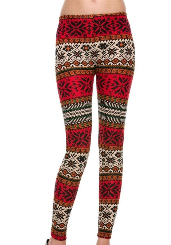Spiced Apple Leggings