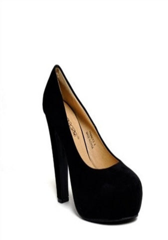 Dare - Black Platform Heel