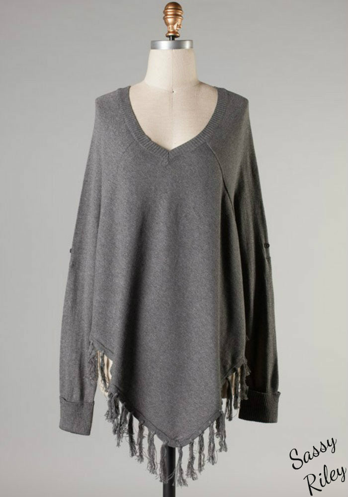 Tassel Me Up Cowboy Sweater