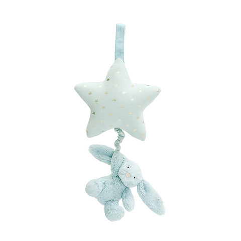 Twinkle Bunny Musical Pull-Blue