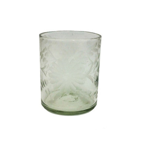 Condessa Crystal Etched Glassware