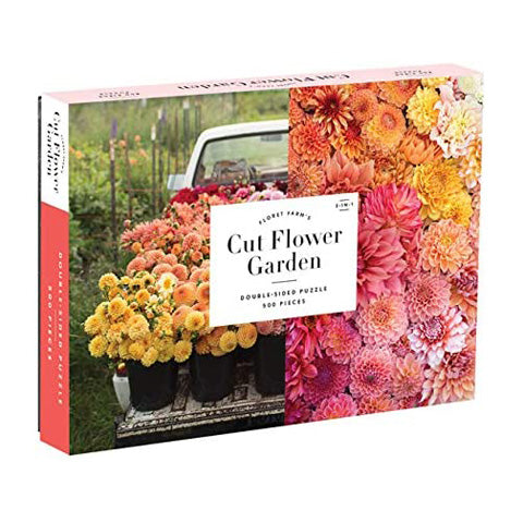 Cut Flower Garden Double Sided 500 pc puzzle