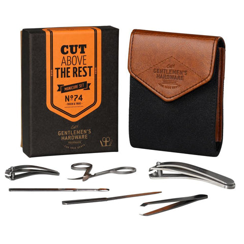 Gentlemen's Hardware Manicure Kit