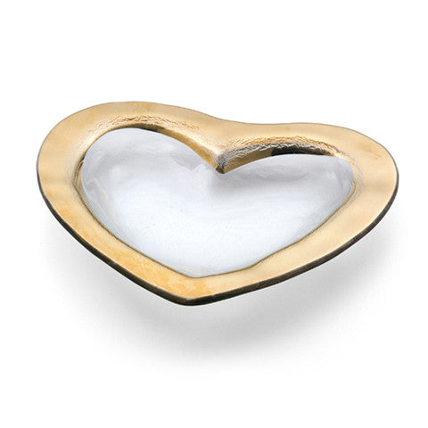 Glass Heart Bowl