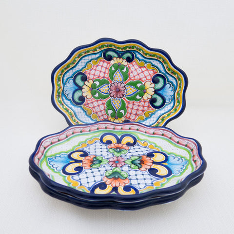 Talavera Scalloped Oval Platter-Arriving Soon!