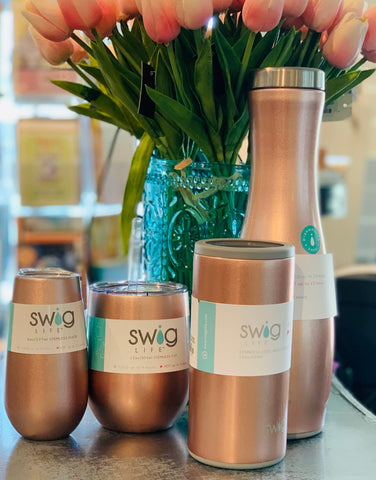 Insulated Mugs, Stemless Wine vessel, Water Bottles and Caraf's To Go