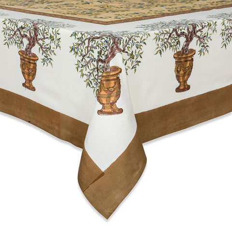 Olive Tree Tablecloth