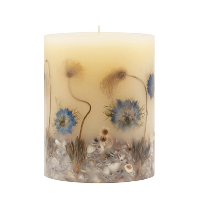 Beach Daisy Botanical Candle