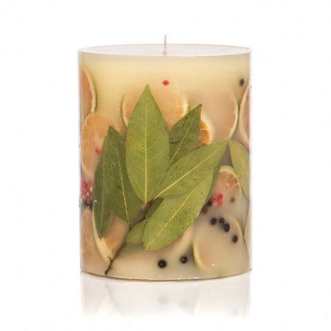 Bay Garland Botanical Candle