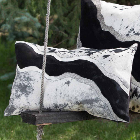 River Cowhide Cushion