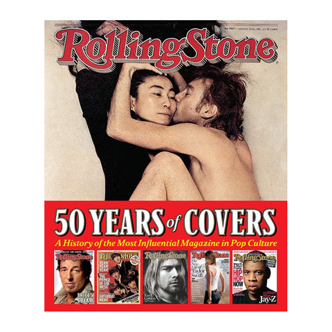 Rolling Stones 50 Years Covers Book
