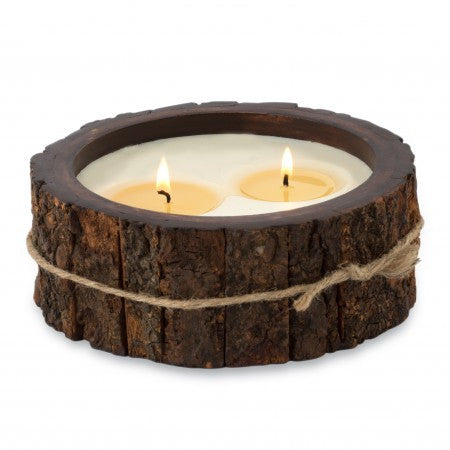 Grapefruit Pine Tree Bark Candle