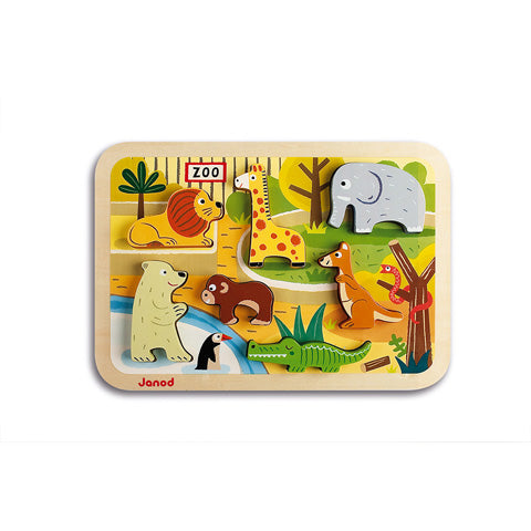Chunky Zoo Puzzle