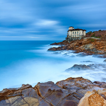 Poly Canvas Print - Float Frame - Photography - Boccale Castle on the Tuscan Coast
