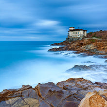 Load image into Gallery viewer, Poly Canvas Print - Photography - Boccale Castle on the Tuscan Coast