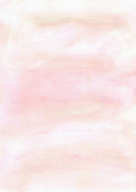 Poly Canvas Print - Float Frame - Abstract - Pastel Pink Tones in a Watercolor Wash