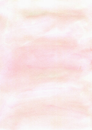 Poly Canvas Print - Abstract - Pastel Pink Tones in a Watercolor Wash