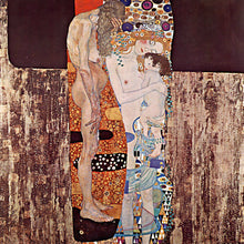 Load image into Gallery viewer, Poly Canvas Print - Float Frame - The Masters - Gustav Klimt - The Three Ages of Woman