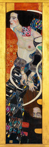 Poly Canvas Print - The Masters - Gustav Klimt - Judith II