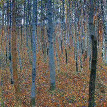 Load image into Gallery viewer, Poly Canvas Print - XXL - The Masters - Gustav Klimt - Beech Grove I