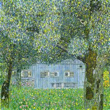 Load image into Gallery viewer, Poly Canvas Print - The Masters - Gustav_Klimt - Oberösterreichisches Bauernhaus