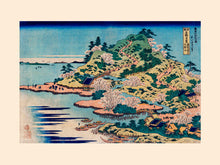 Load image into Gallery viewer, Poly Canvas Print - The Masters - Katsushika Hokusai - Sesshu Ajigawaguchi Tenposan