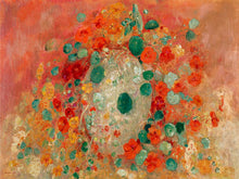 Load image into Gallery viewer, Poly Canvas Print - The Masters - Odilon Redon - Nasturtiums