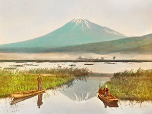 Poly Canvas Print - The Masters - Kazumasa Ogawa - Mount Fuji as Seen from Kashiwabara