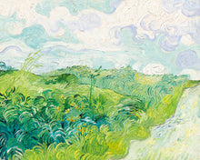 Load image into Gallery viewer, Poly Canvas Print - XXL - The Masters - Van Gogh - Green Wheat Fields, Auvers