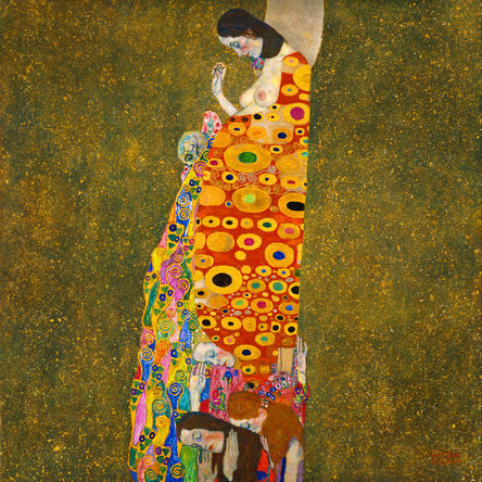 Poly Canvas Print - Float Frame - The Masters - 20x20 - Gustav Klimt - HopeII