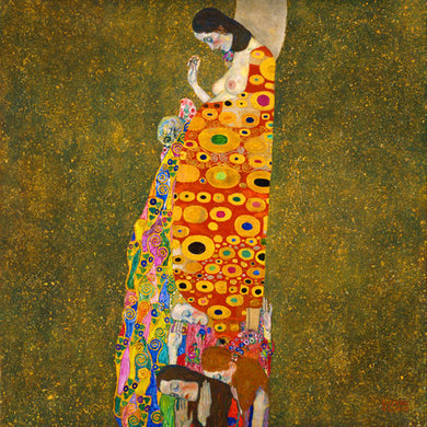 Poly Canvas Print - XXL - The Masters - 20x20 - Gustav Klimt - HopeII