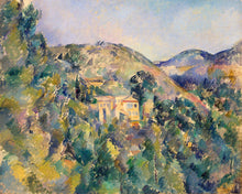 Load image into Gallery viewer, Poly Canvas Print - XXL - The Masters - Paul Cézanne - View of the Domaine Saint-Joseph