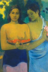 Poly Canvas Print - XXL - The Masters - Paul Gauguin - Two Tahitian Women