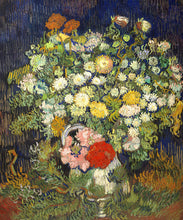 Load image into Gallery viewer, Poly Canvas Print - XXL - The Masters - Van Gogh - Bouquet of Flowers in a Vase