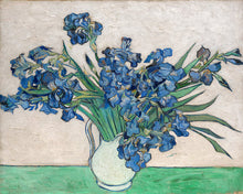 Load image into Gallery viewer, Poly Canvas Print - Float Frame - The Masters - Van Gogh - Irises