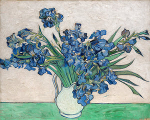Poly Canvas Print - The Masters - Van Gogh - Irises