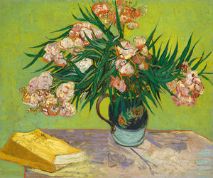 Poly Canvas Print - Float Frame - The Masters - Van Gogh - Oleanders
