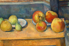 Load image into Gallery viewer, Poly Canvas Print - Float Frame - The Masters - Paul Cézanne - Still Life with Apples and Pears