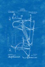 Load image into Gallery viewer, Poly Canvas Print - XXL - Patent Drawing - 1911 Icecycle