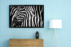 "Landscape Mode Gallery Wrap Photo Canvas Print with Matte Black Floating Frame - Large Sizes 16"" x 12"" to 48"" x 24"""