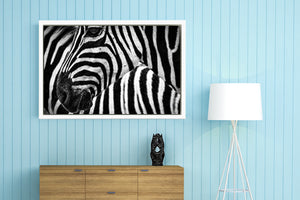 "Landscape Mode Gallery Wrap Photo Canvas Print with White Floating Frame - Large Sizes 16"" x 12"" to 48"" x 24"""