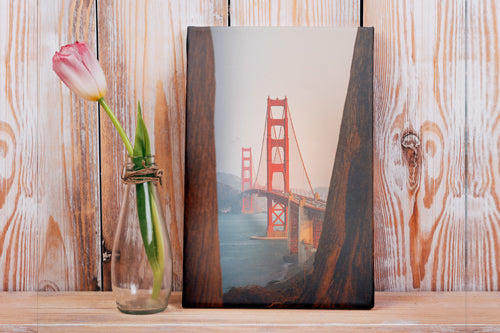 "Portrait Mode Gallery Wrap Photo Canvas Print - 1.5"" Frame Height-product-page"