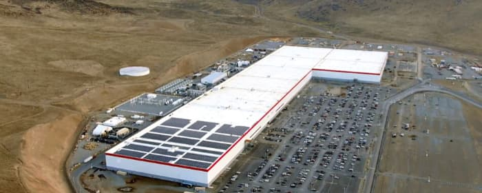 The Tesla Gigafactory in Nevada is near the largest lithium mine in the United States
