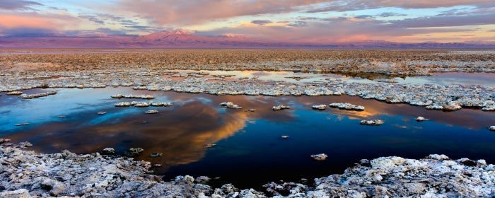 Salar de Atacama in Chile is loaded with natural lithium